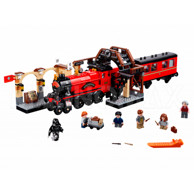 Конструктор Lepin 16055 / Harry Potter Хогвартс-экспресс (аналог LEGO 75955, 897 дет.)