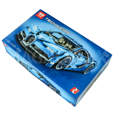 Конструктор Lepin 21009 / Racers super car FERRARI FXX 1:17 (аналог ЛЕГО 8156, 632 дет.) - 5