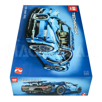 Конструктор Lepin 21009 / Racers super car FERRARI FXX 1:17 (аналог ЛЕГО 8156, 632 дет.) - 3