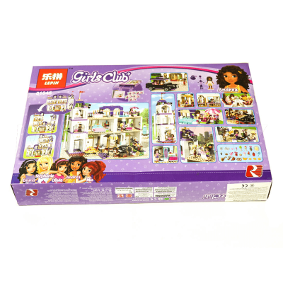 Конструктор Lepin 01045 / Girls Club Гранд-отель (аналог LEGO 41101, 1676 дет.) - 2