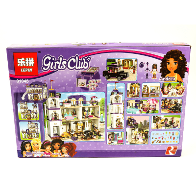 Конструктор Lepin 01045 / Girls Club Гранд-отель (аналог LEGO 41101, 1676 дет.) - 6