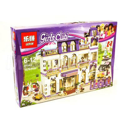 Конструктор Lepin 01045 / Girls Club Гранд-отель (аналог LEGO 41101, 1676 дет.) - 3